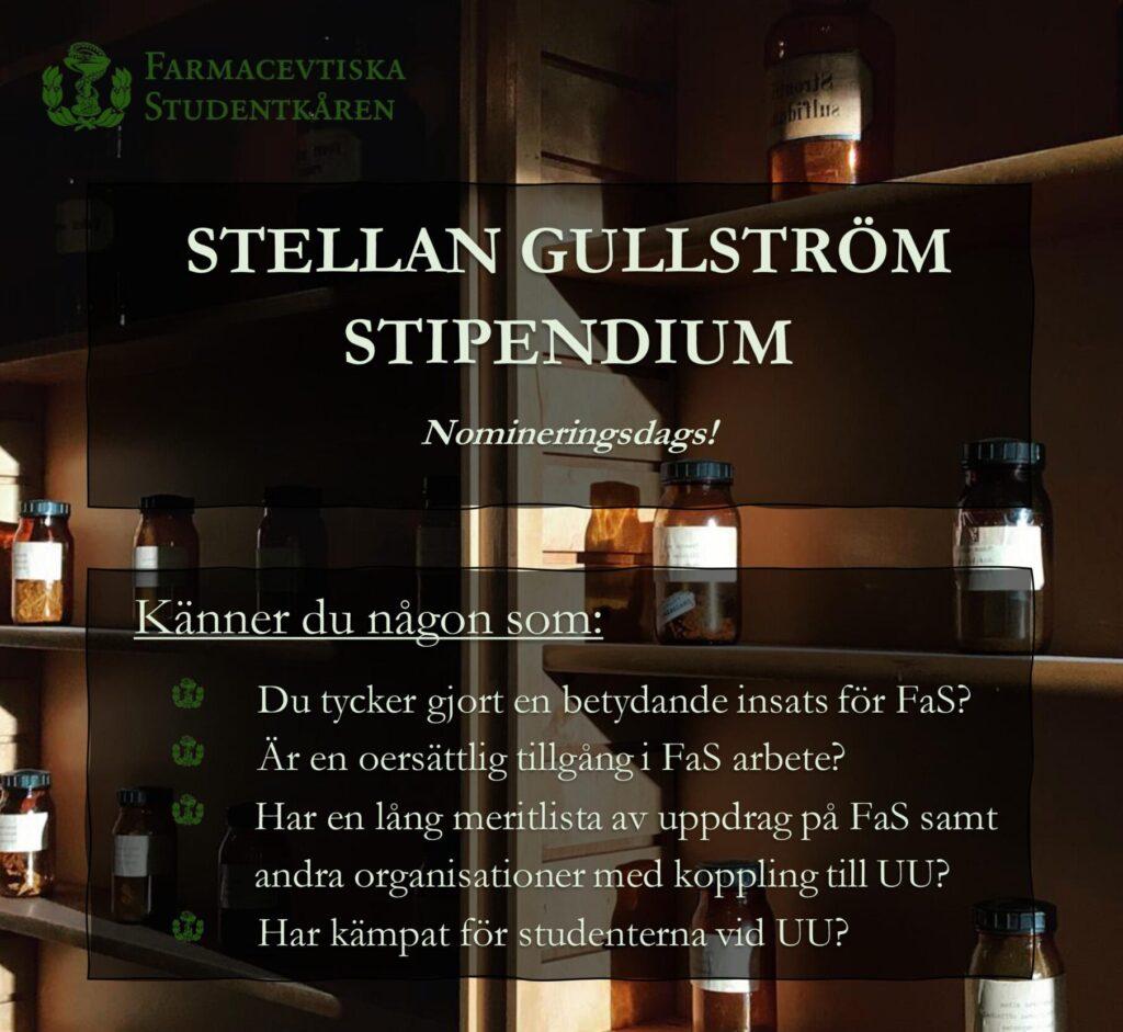 Stellan Gullström stipendium